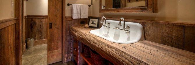 Ванной комнаты из дерева своими руками 5