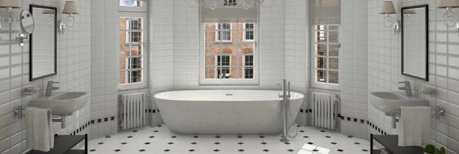 белая плитка для ванной комнаты сочетание оттенков видео