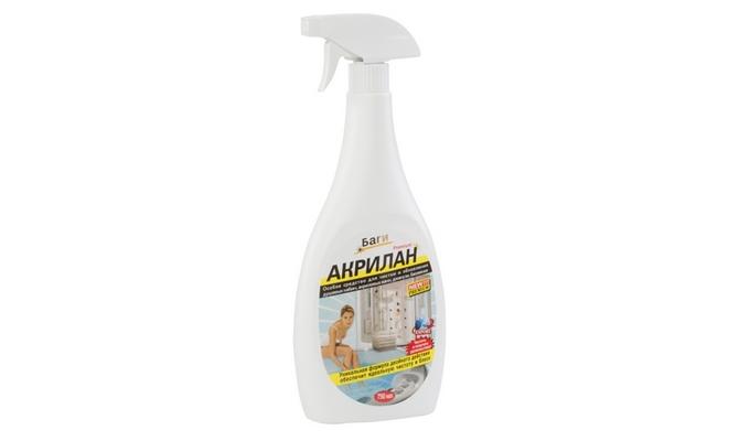 Акрилан - средство для чистки акриловой ванны