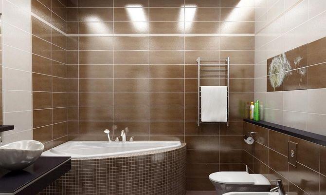 Один из вариантов освещения в ванной
