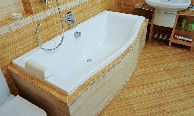 Элегантная акриловая ванна