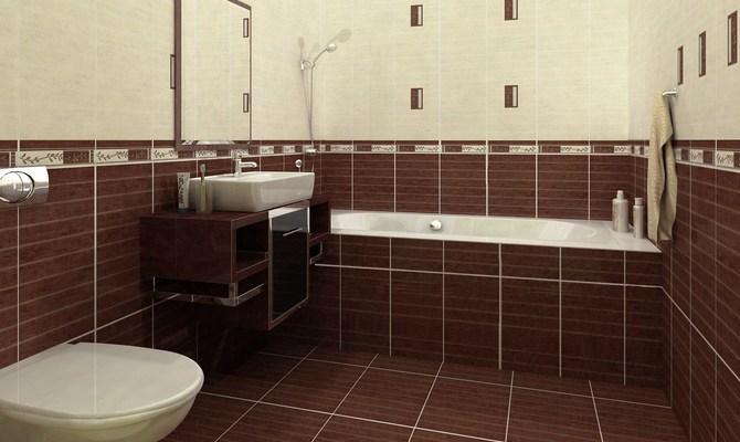 Особенности отделки стен в ванной комнате фото