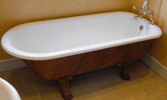 Чугунная ванна и ее преимущества