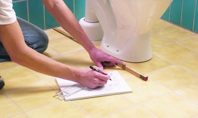 Составление плана ремонта в ванной
