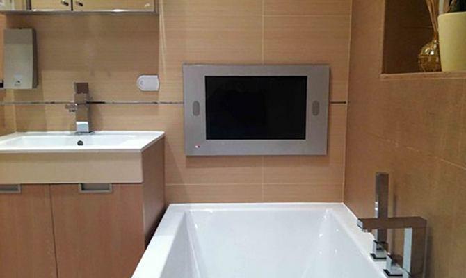 Водонепроницаемый телевизор для установки в ванной
