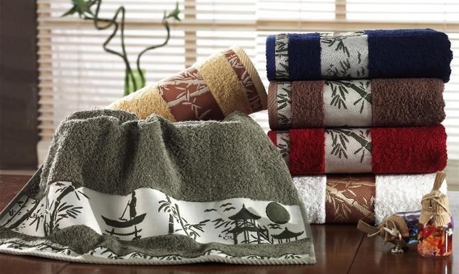Бамбуковые полотенца для ванной