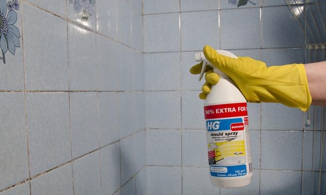 Как убрать плесень в ванной комнате на стенах своими руками 89