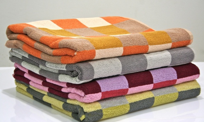 Плотные банные полотенца