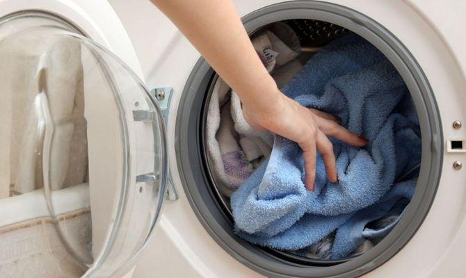 Стирка полотенец в машинке