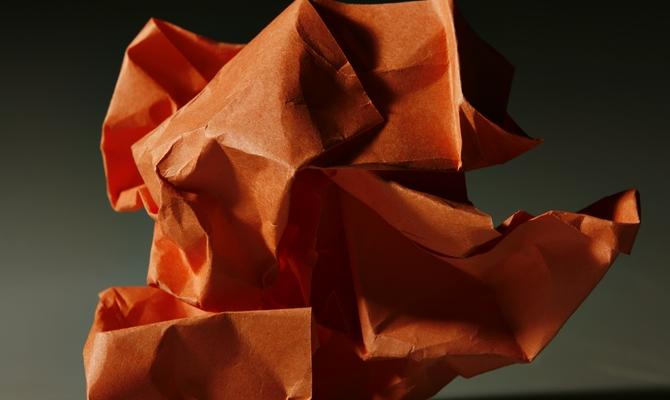 Ловушка для насекомых из бумаги