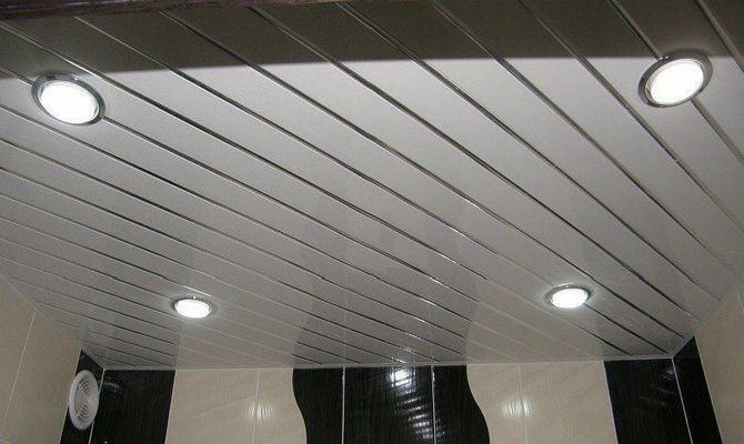 Светодиодные светильники в ванной