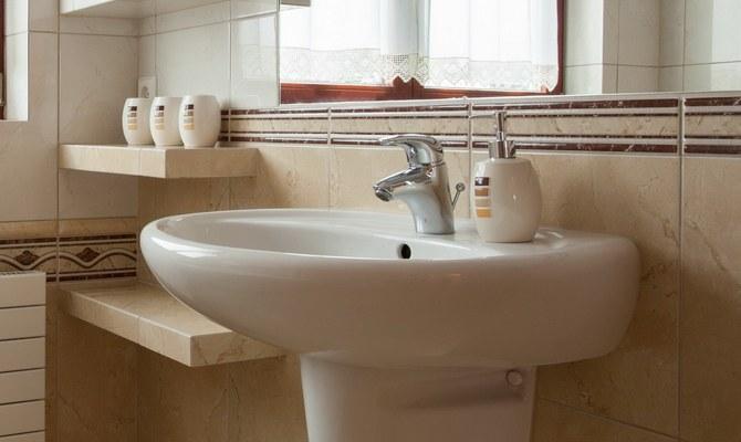 Раковина в ванной - стандарты установки