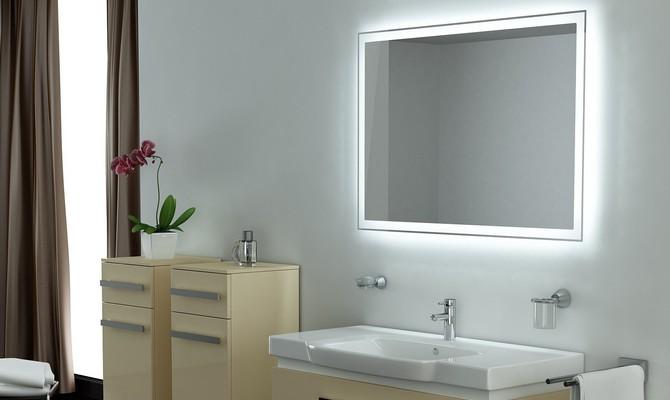 Зеркало с подсветкой: варианты