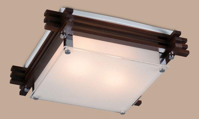 Точечные светильники в японском стиое