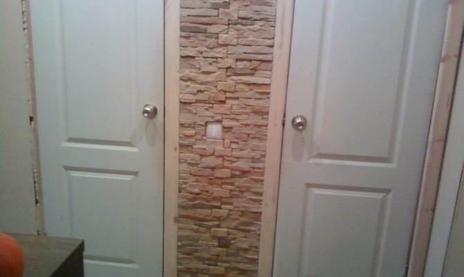 Одностворчатые двери для туалета и ванной