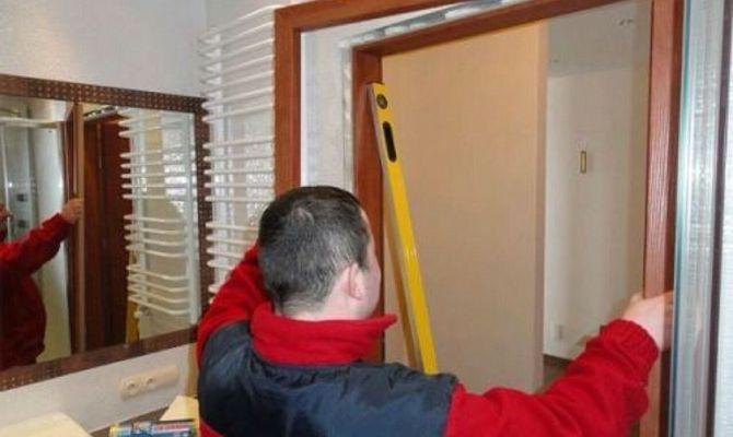 Проведение замеров перед установкой двери