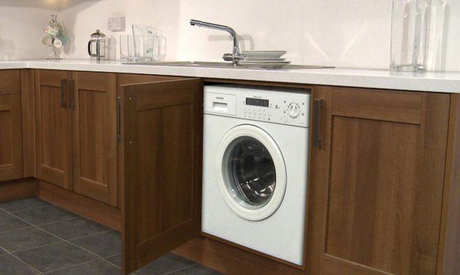 Шкаф для стиральной машины из МДФ