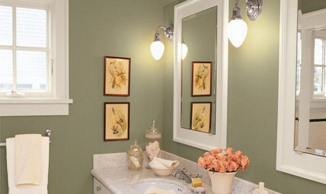 Окрашивание стен влагонепроницаемыми красками