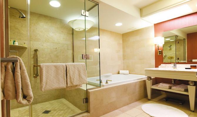 Как следует создавать освещение для ванной комнаты?
