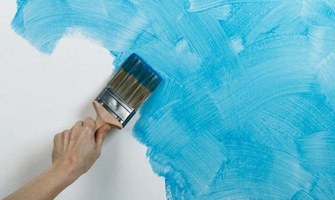 Выбор краски и инструмент фото