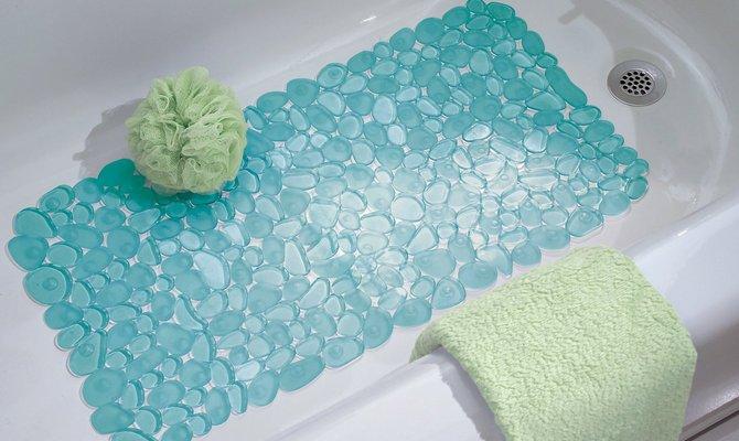 Сочетание коврика с дизайном ванной комнаты