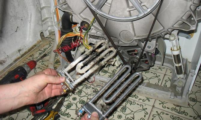 Что делать, если машина перестала нагревать воду?