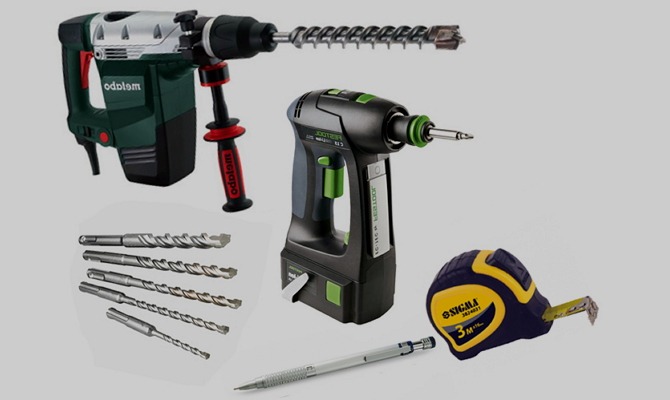 Необходимые инструменты и принадлежности