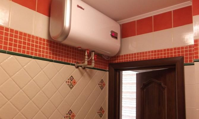 Конструкция накопительных нагревателей