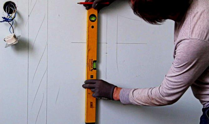 Технология установки полотенцесушителя
