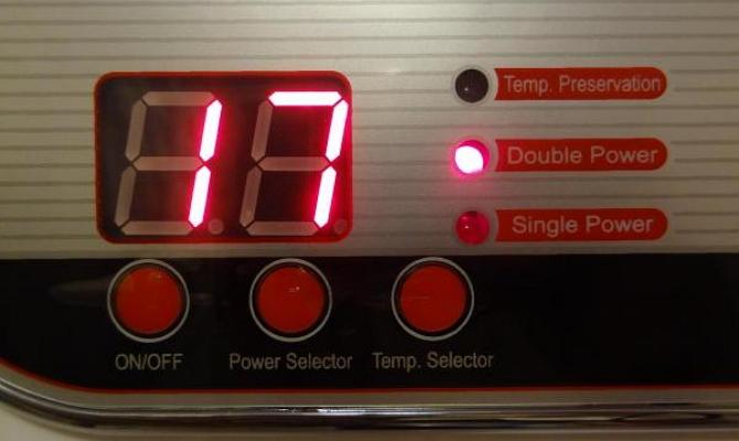 Выключение водонагревательного агрегата