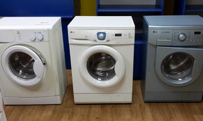 Габариты фронтальных стиральных машин