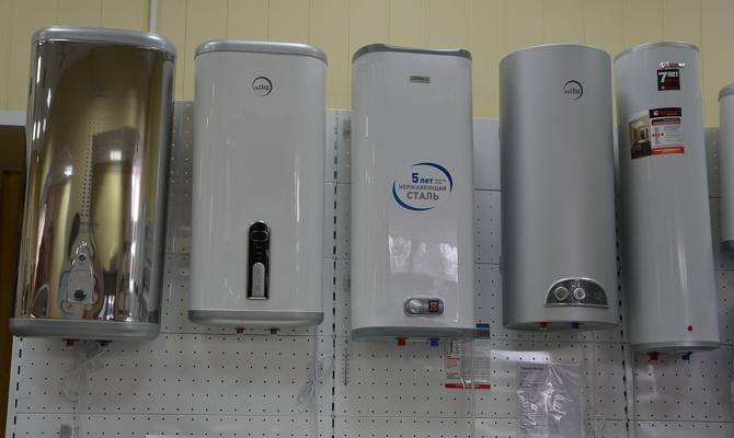 Типы водонагревателей