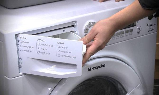 Конструкция лотка стиральной машины-автомата