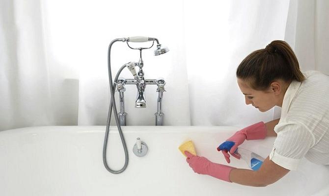 Что нужно знать, приступая к очистке ванны