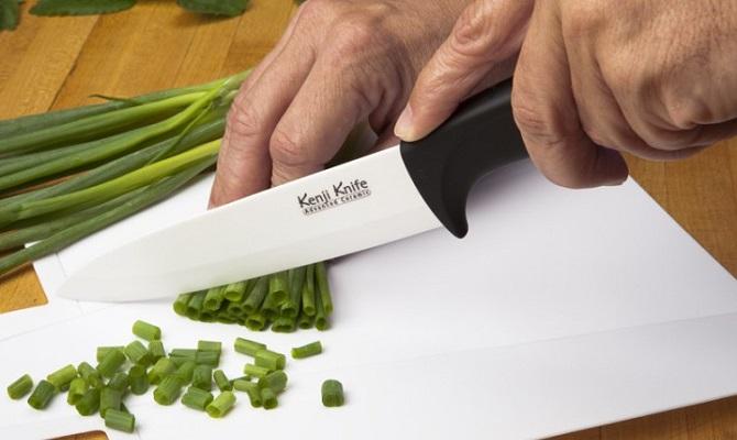 Чем наточить керамический нож дома