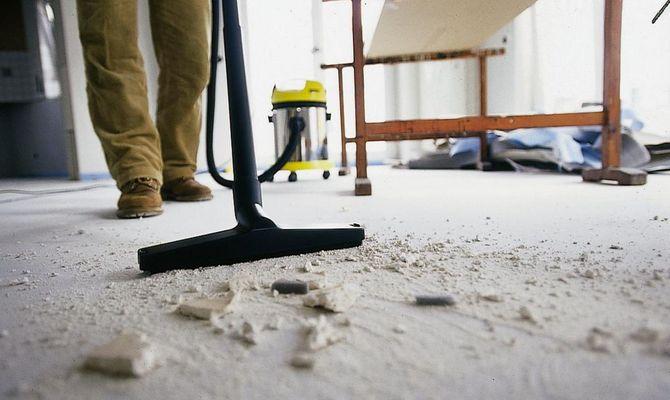 Подготовка к удалению копоти после пожара
