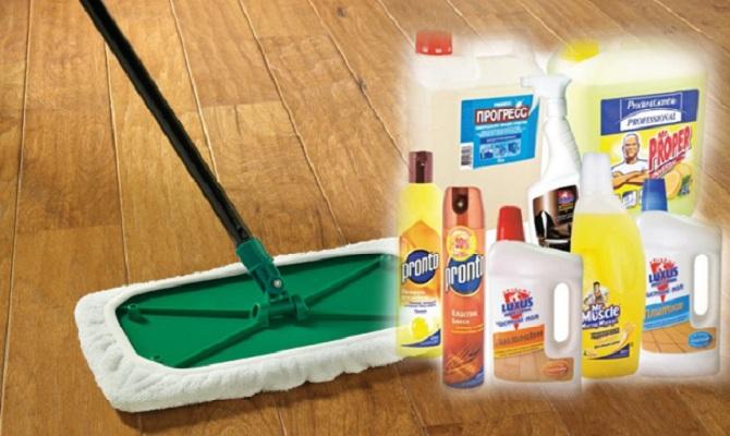 Какое выбрать моющее средство для ламината?