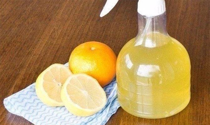 Аромат цитрусовых в освежителе для кухни