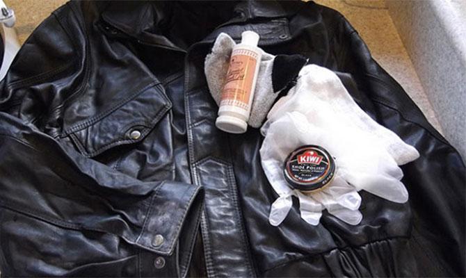 Какие средства применяются для чистки изделий из кожи?