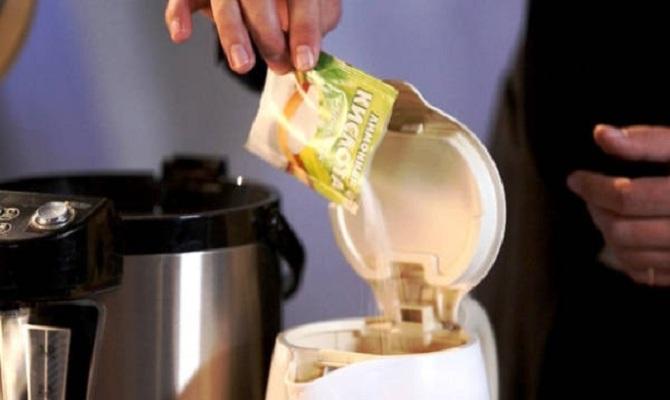 Способы удаления накипи лимонной кислотой