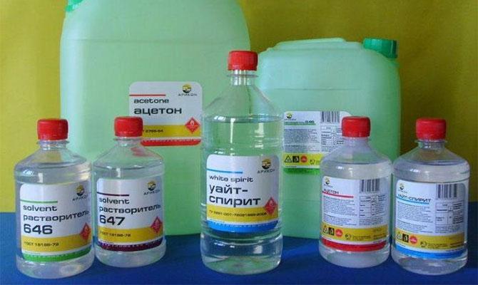 Способы устранения клея с пластика химическими средствами