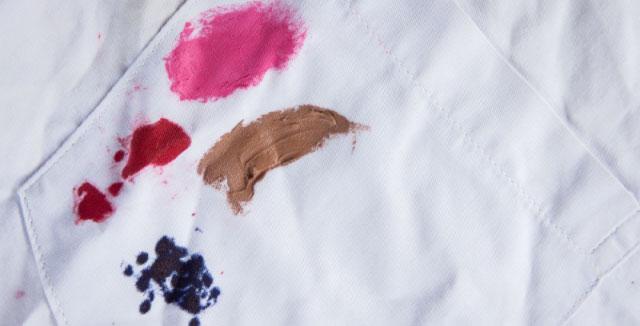 Пятна от краски для волос: как отстирать