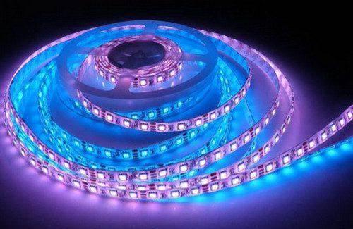 Как крепить светодиодную ленту