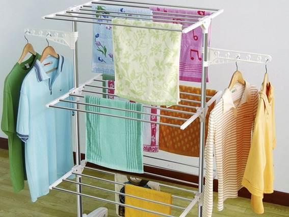 Где сушить белье в квартире