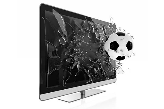 Можно ли отремонтировать ЖК телевизор, если разбит экран?
